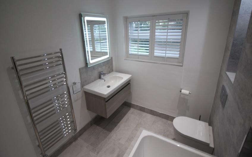 Bathroom Design After Sink Unit