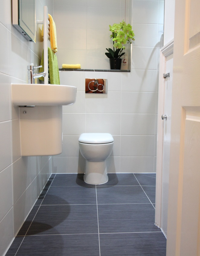 Bathroom redesign - toilet after