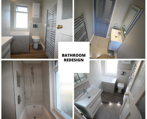 Bathroom redesign in Bristol