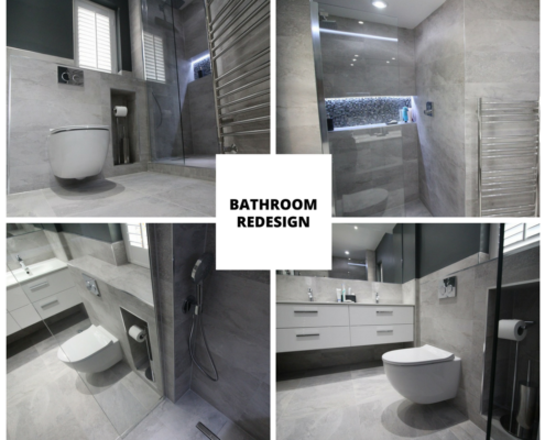 Bathroom design after
