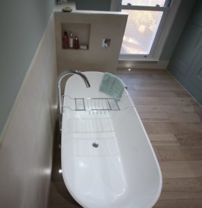 Bath after redesign in Redland