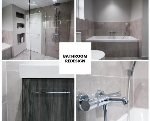 Bathroom design after
