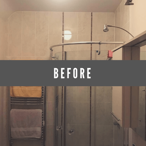 shower before redesign