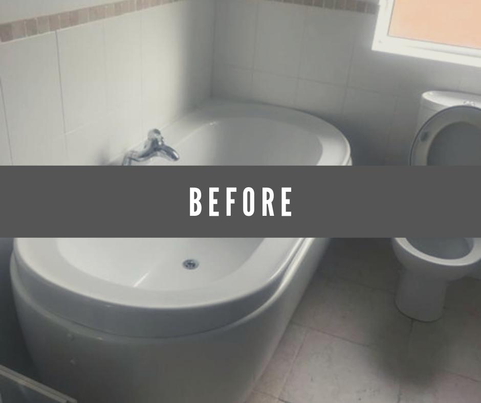 bathroom before redesign
