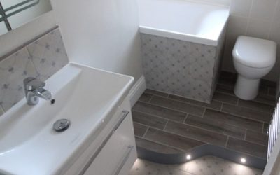 Family Bathroom in an awkward space – Bishopston, Bristol