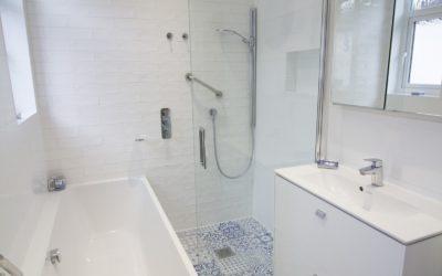 Family bathroom, Westbury on Trym