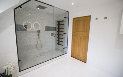 The en-suite with the ultimate shower enclosure – Stoke Bishop